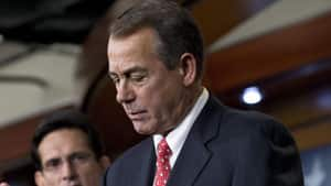 Speaker of the House John Boehner was among congressional leaders involved in talks at the White House on Friday in the latest meeting to see where things stand in the attempt to avoid the U.S. from going over the fiscal cliff.