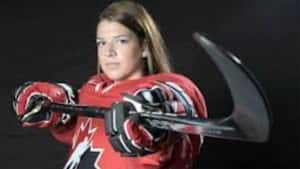 Stratford native Sarah Steele is the lone Maritimer on the squad competing in Finland.