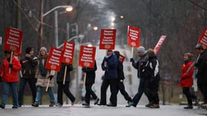 Elementary teachers staged rolling, one-day strikes across the province before the holidays.