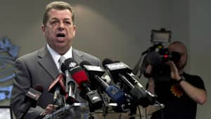 Sam Hammond, the president of the Elementary Teachers' Federation of Ontario, says the government won't appease teachers by simply repealing Bill 115.