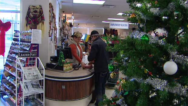 Saskatchewan's Ukrainian community is getting ready for Christmas picking up specialty foods from the Ukrainian Co-op grocery in Regina.