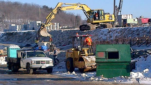 Demolition of Elliot Lake's Algo Centre Mall is underway and is expected to take about two months.