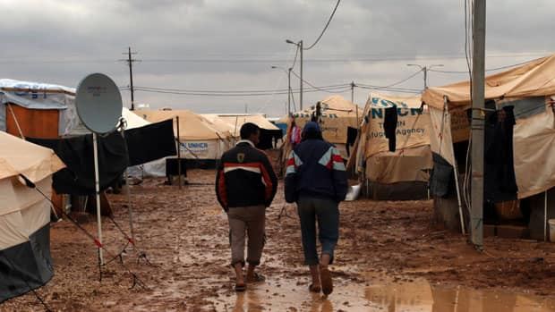 Initial estimates from December suggest the number Syrian refugees could be more than a million by June.