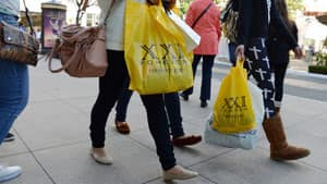 Sales were flat at general merchandise stores in the U.S. in December, compared with the month earlier.