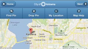 People in Kelowna can now report requests for service through their smart phones