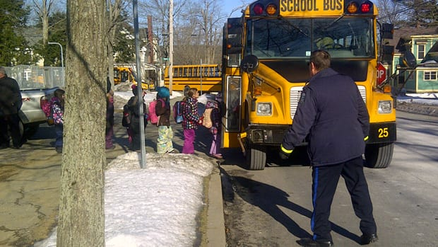Elementary students were bused to the Nova Scotia Community College across town.