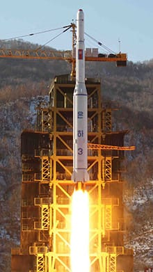 North Korea's test of its Unha-3 rocket on Dec. 12 resulted in tightened sanctions by the UN Security Council. Pyongyang's Foreign Ministry said Wednesday that North Korea will continue to strengthen its deterrence against all forms of war.