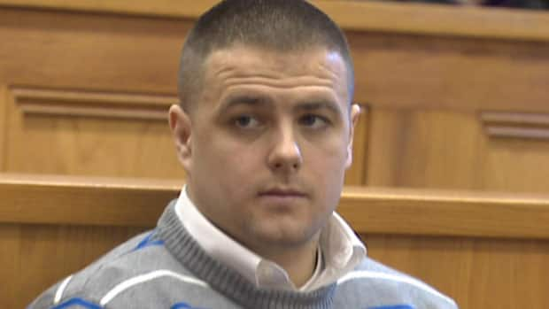 Steven Neville in court in St. John's on Tuesday.