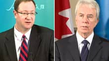 Alan Ross, at left, has been appointed to open an office in Ottawa and David Manning will be heading down to Alberta's envoy office in Washington, D.C.
