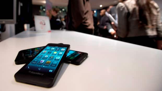 The Blackberry Z10 went on sale on Tuesday across Canada.