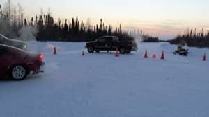 A group of Attawapiskat residents have pulled down their blockade of the winter road leading to De Beers diamond mine.