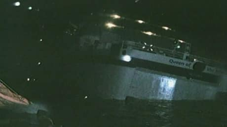 Ferry worker was trapped in flooded cabin as ship began sinking