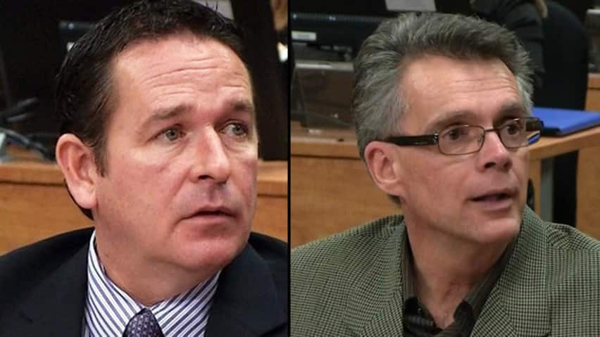 Montreal has fired employees Yves Themens and François Thériault after an internal investigation has confirmed wrongdoing revealed in testimony last fall at Quebec's corruption inquiry.