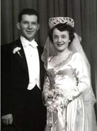 Nancy and Howard Kleinberg have been married for 63 years.