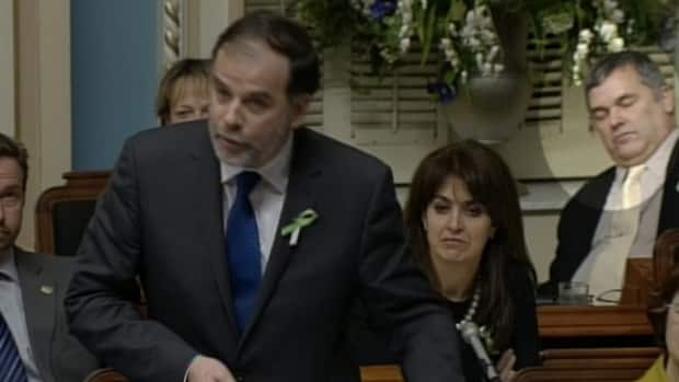 Daniel Breton was caught on camera repeatedly dozing off during question period this week.