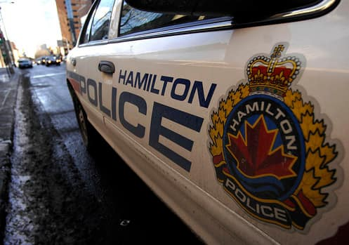 Hamilton police worked with Waterloo Regional Police to pursue the suspects and execute a warrant.