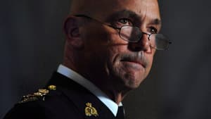 In Ottawa, RCMP Commissioner Bob Paulson said he wants to hire 20 to 30 per cent more female officers.