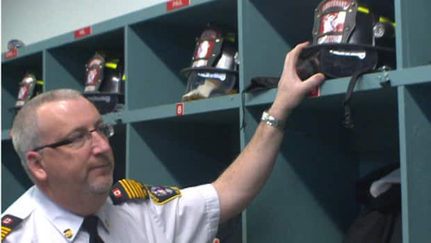 Georgetown Fire Chief Mark Gotell says his department's turnout gear is nearly 20 years old.