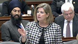 NDP Leader Andrea Horwath demanded an explanation from the premier on how the government could find out again that there are outstanding documents on the cancelled gas plants that have still not been released.