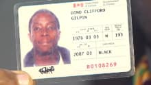 Dino Gilpin says staff at The Alehouse didn't consider his Canadian citizenship card a valid form of ID.