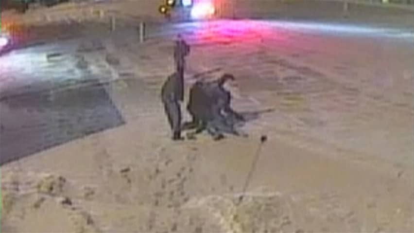 Violent police arrest video released in Quebec court - Montreal - CBC News