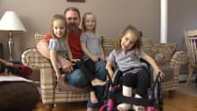Brad Given is raising his triplets and another daughter without his wife, Amy. She died last year as a result of a blood disorder.