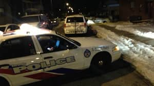 Michael Cocomello was stabbed in the area of Eglinton Avenue West and Nairn Avenue on Monday night, Toronto police say.