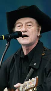 Stompin' Tom Connors performs at Live from Rideau Hall, a concert held at Rideau Hall in Ottawa Sunday, June 16, 2002.