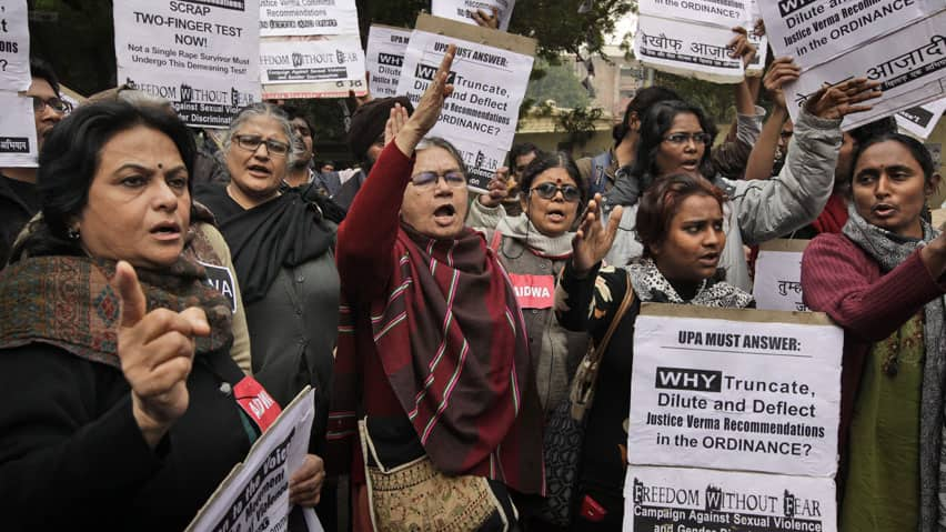 The gang rape of a 23-year-old student on a New Delhi bus sparked protests across India. One of the men accused in the case committed suicide in jail on Monday, an official said.