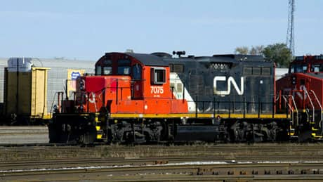 Smithers residents trapped by parked trains at crossings