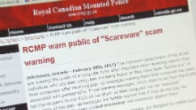 The RCMP is warning Canadians about the scam.