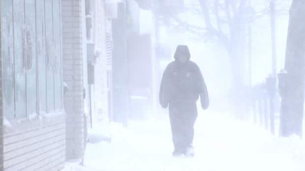 Blustery conditions hit most of P.E.I. Friday.