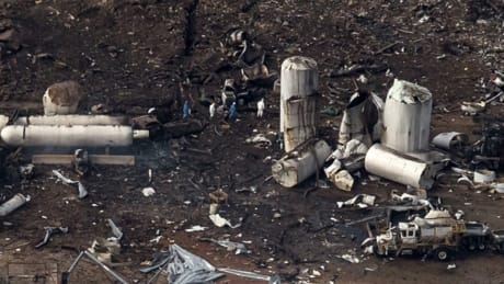 Residents allowed home after Texas plant explosion