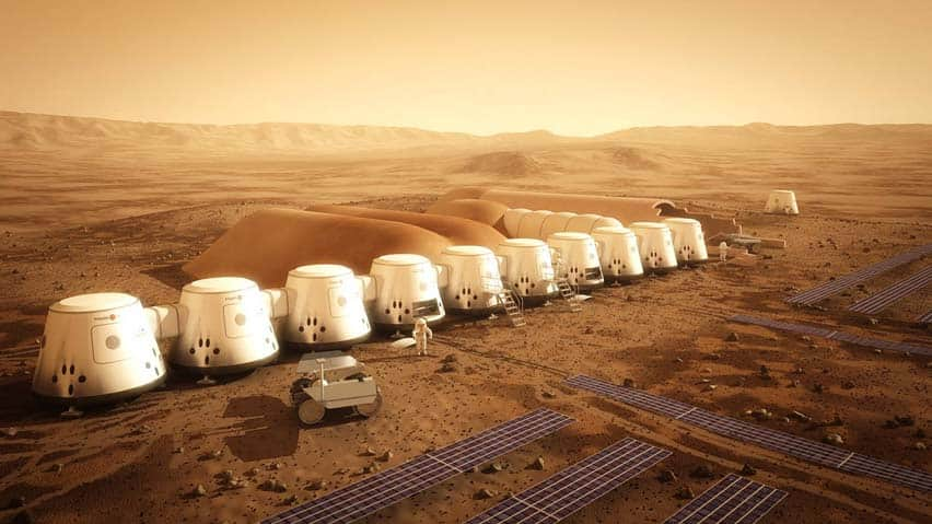 mars one mission, mars pods, space exploration, mars, desert, humans taking over mars, human population of mars