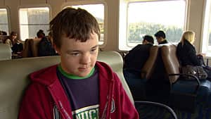 Daniel McGregor, 14, lives on Bowen Island and commutes with other high school students to West Vancouver on the ferry, where he says he has been subject to bullying.