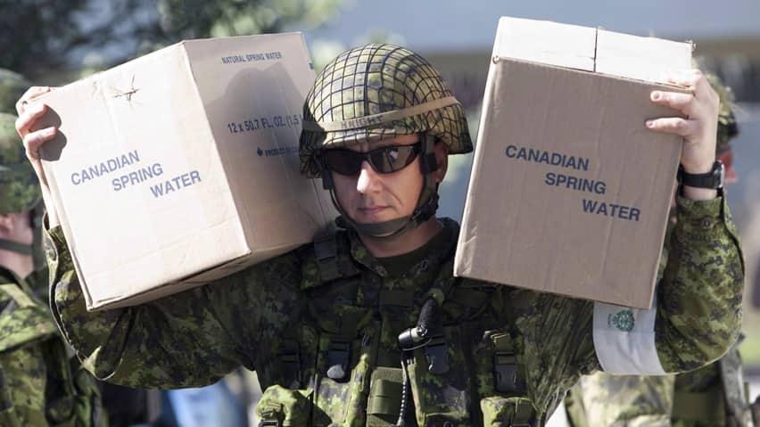 Canada to send peacekeeping troops to Haiti