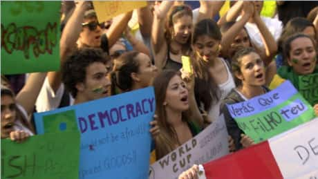Hundreds attend 'Change Brazil' protest in Vancouver