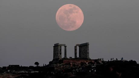 'Supermoon' arrives early Sunday