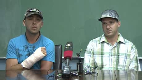 Angry bear attack recalled by B.C. men