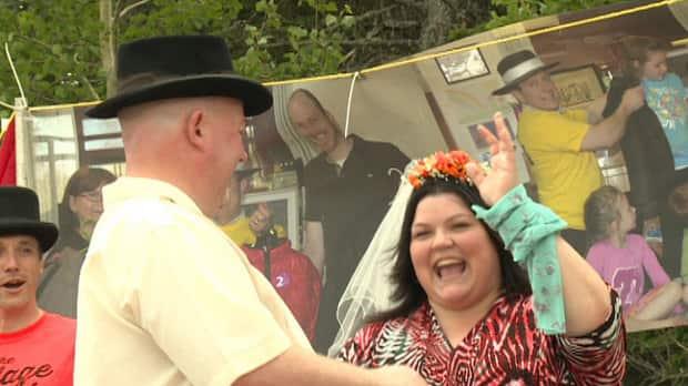 flash wedding surprises charity feast prince edward