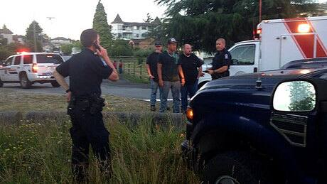 Aggressive black bear fought off by man in Mission, B.C.