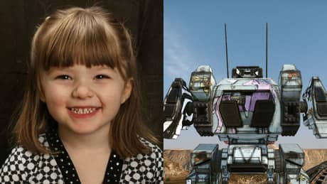 Video game robot honours 5-year-old cancer victim