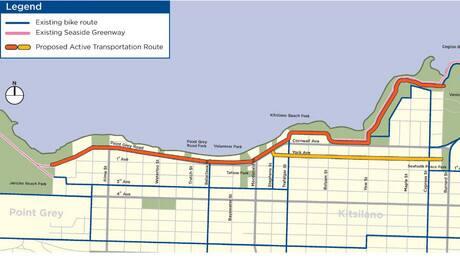 $6M Kitsilano bike route project gets green light