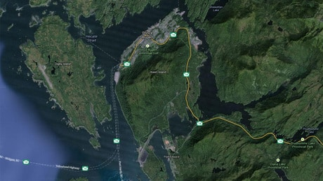 Leak of fuel or oil discovered near Prince Rupert, B.C.