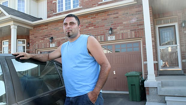 Patrick Araya moved to Waterdown a year ago in search of a small town atmosphere. 'What we have here, there's no possibility of getting it Brampton,' he said of his two-storey semi-detached home. Waterdown's population is expected to double in the next five years from new developments.