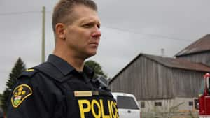 OPP Sergeant Meshach Parsons explains the UCRT is examining the chemical contents of approximately 54 barrels.