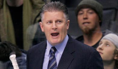 Marc Crawford posted a 59-84-21 record over two seasons in Los Angeles.