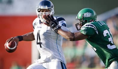 Argos look to keep pace with the Als atop the East