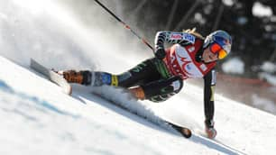 Lindsey Vonn became the first American to win back-to-back downhill titles since Picabo Street in 1995-'96.