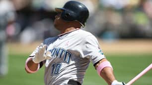 Toronto Blue Jays clean-up hitter Vernon Wells has gone 15 games without an RBI.